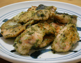 鮭のジェノバ風 お弁当のおかず