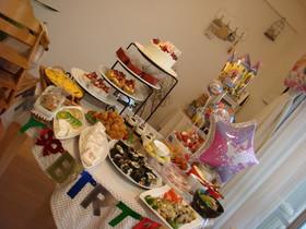 birthdayパーティー 4歳!