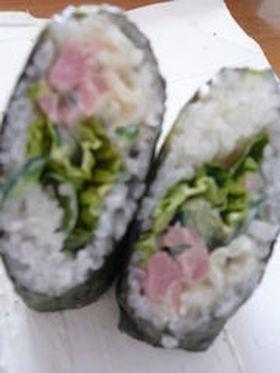 新しい使い方?! 焼き豚 DE巻き寿司❤