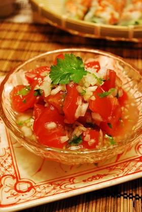 あと一品足りない時のタイ風トマトサラダ♪