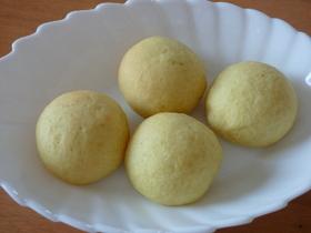 卵・油分なし☆さつま芋たっぷりのプチパン