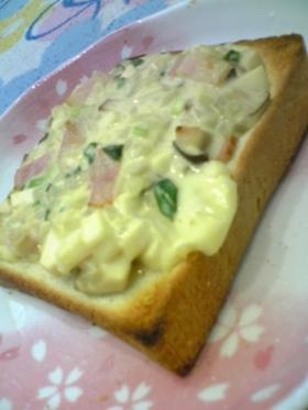 ♡きのこたっぷり味噌マヨチーズトースト♡