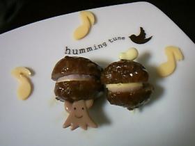 ☆キャラ弁♪ミニハンバーガー!?