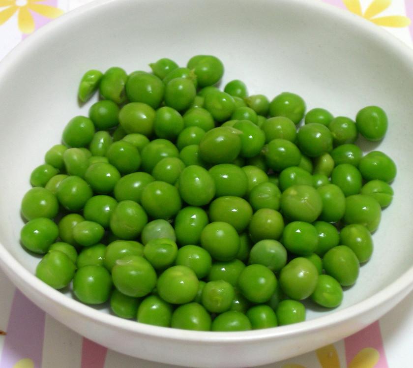 グリーンピースのキレイなゆで方と保存法