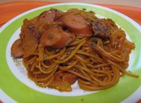 簡単☆洋食屋さんのスパゲッティナポリタン
