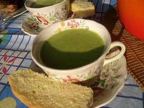 アスパラガスのスープ♪