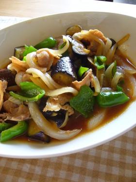 豚肉と夏野菜の甘味噌炒め