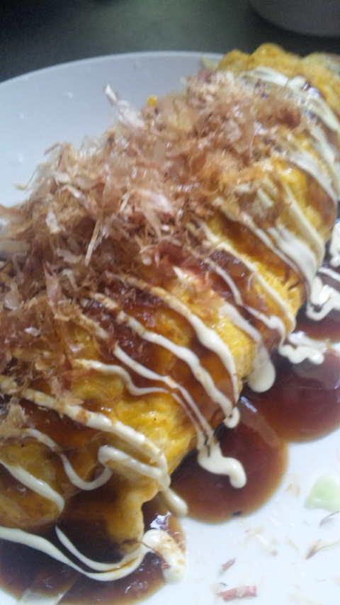 卵1つでキャベツたっぷりとんぺい焼き☆