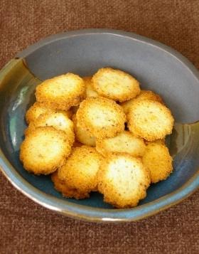乾煎り不要:チーズおからクッキー