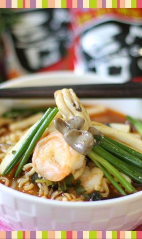 No.17 海鮮ラーメン 韓国料理