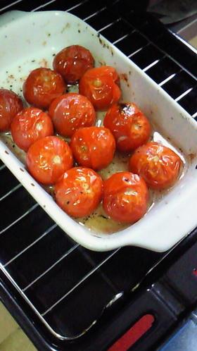 プチトマトのグリル