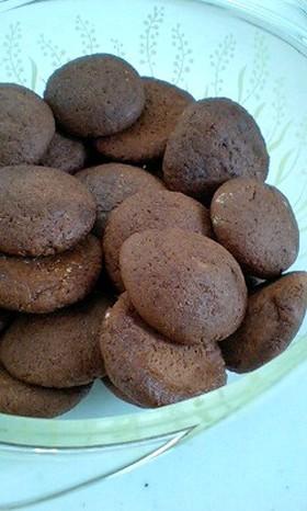 FPで簡単♪ココアクッキー