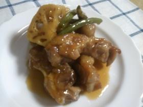 簡単☆鶏肉の照り焼き♪マーマレード風味☆