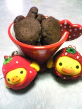 家にあるもので簡単クッキー☆