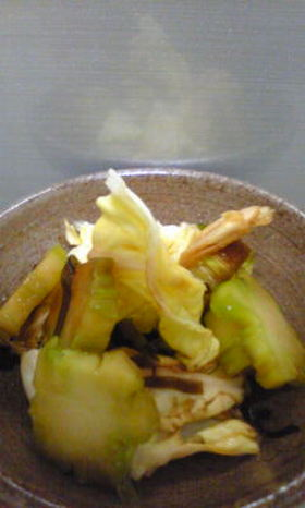 ブロッコリー茎の漬物☺☻