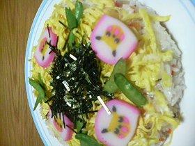 簡単、手抜きチラシ寿司