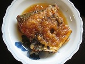 鯖のおろし煮
