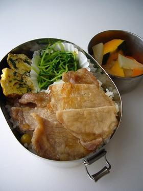 豚肉の旨煮丼(弁当)