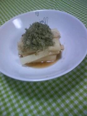 ヤマキめんつゆで簡単長芋の柚こしょう漬