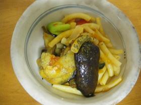 干し野菜とマカロニのラタトゥユ