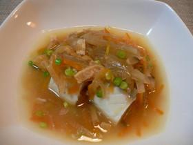 ヘルシオで蒸し物☆白身魚の野菜あんかけ