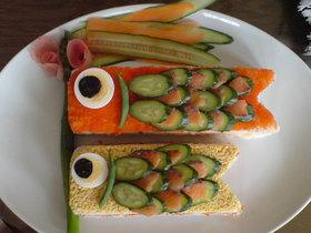 簡単♪こいのぼり寿司(こどもの日)