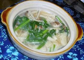 【簡単】本格スープの鶏鍋(柚子胡椒風味)