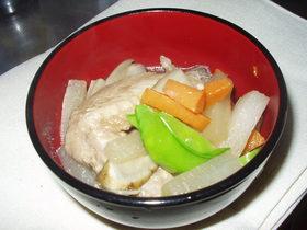 コラーゲンたっぷり☆手羽先の煮物