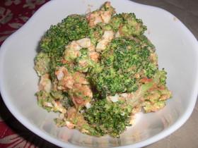 ブロッコリーと卵の明太マヨサラダ