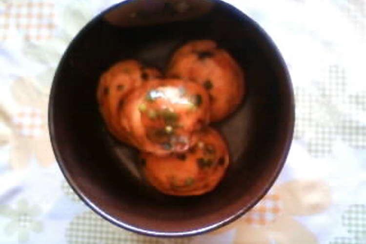 うす 方 ひろ 食べ <ひろうす含め煮>春のサクラ弁当のレシピ
