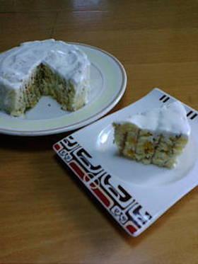 10分!スイスロールで簡単しっとりケーキ
