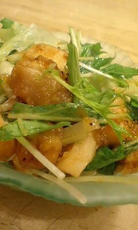 豚とエリンギの南蛮漬サラダ