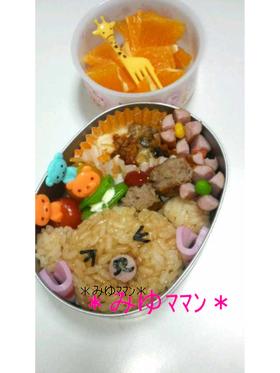*くまちゃんお弁当*