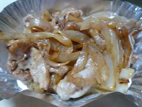 お弁当に☆豚肉と玉ねぎのオイマヨ炒め