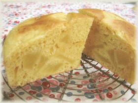 ノンオイル国産粉りんごケーキ*もちもち系