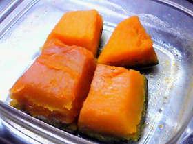 お弁当に☆電子レンジで塩かぼちゃ