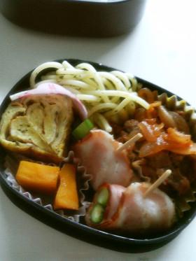 お弁当に!牛肉と玉ねぎのケチャップ炒め