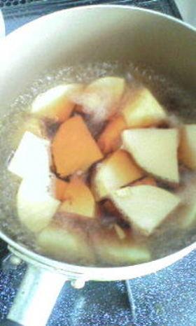 ヤマキのめんつゆでたけのこ煮