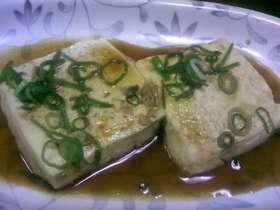 超簡単!豆腐ステーキ