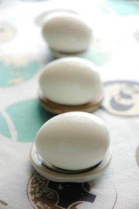 ゆで卵のキレイな剥き方