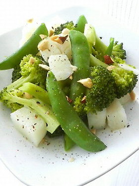 簡単!温野菜・健康サラダ♪