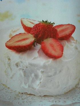 簡単!レンチン☆ショートケーキ