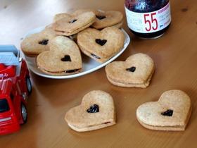 おしゃれde美味しいジャムサンドクッキー