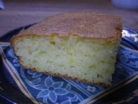 簡単!柚子ケーキ