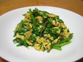 韮菜炒蛋(ニラ玉・にらたま)