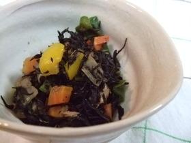 【お弁当の常備菜】ツナひじき
