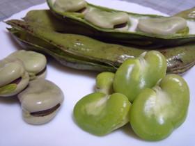 豆知識♥そら豆の加熱方法\(^o^)/