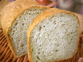HBでよもぎとライ麦のサックリ食パン