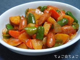 酢豚風野菜炒め