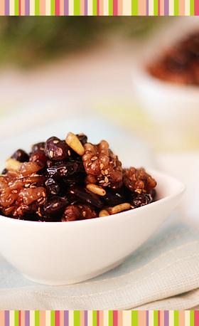 No.20 黒豆のしょうゆ煮 韓国料理